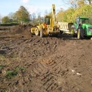 Jord og kloak arbejde 2